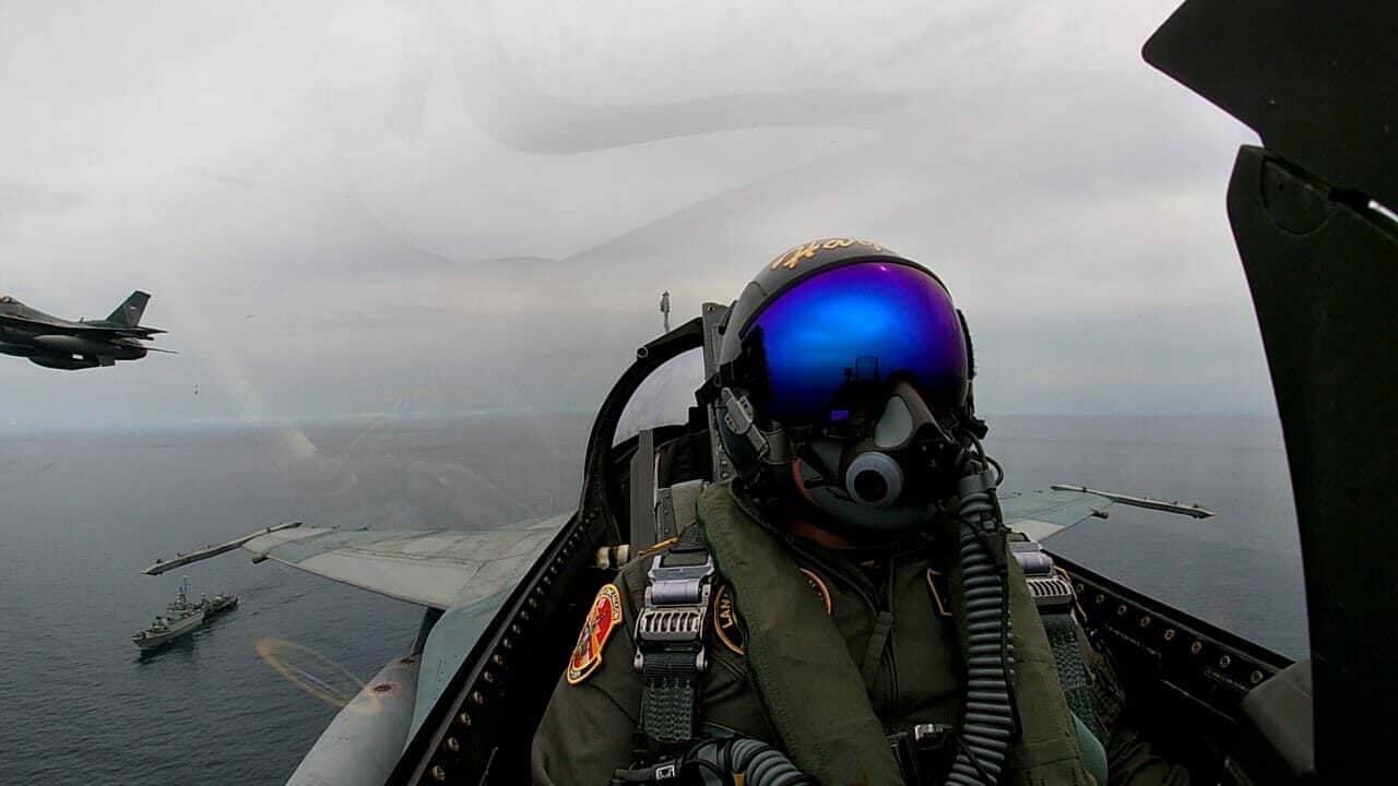 Dukung Latihan Operasi Amfibi, Lanud Rsn Kerahkan F-16