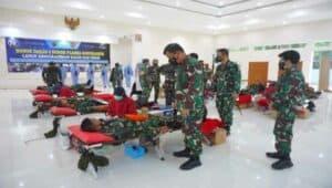 Donor Darah dalam rangka HUT TNI AU Ke-75