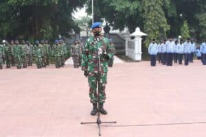 Peringati HUT ke-75 TNI Angkatan Udara, Personel Lanud JB Soedirman Ziarah ke TMP Purbosaroyo