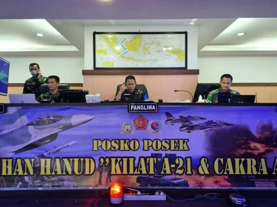 "Latihan ""Cakra A-21"", Kosekhanudnas I Laksanakan Force Down"