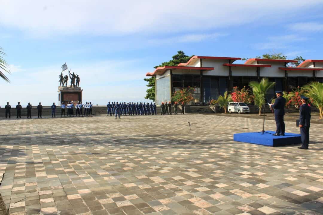 Upacara Peringatan Ke 75 Hari TNI AU
