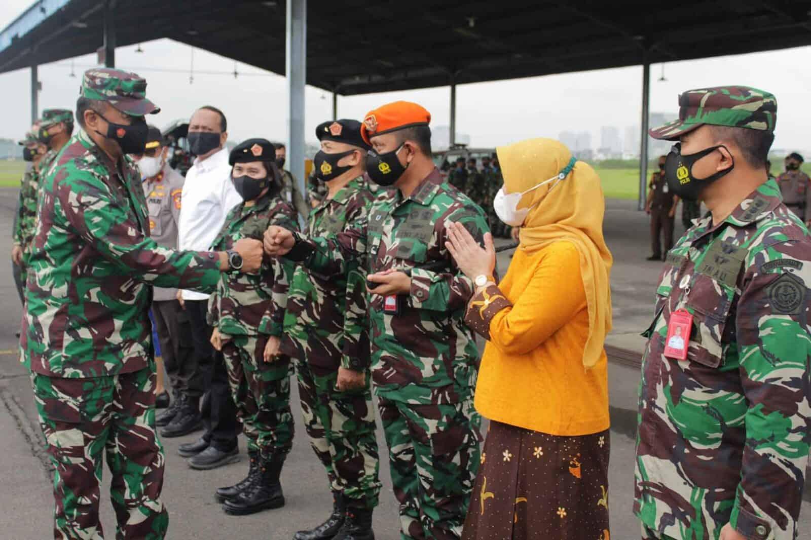 Danwing III Paskhas Turut Serta Dalam Penjemputan Kasau