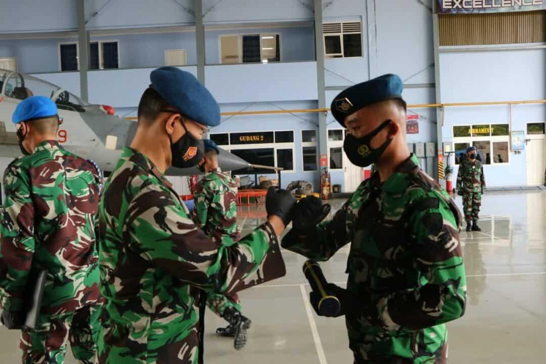 Penutupan Pendidikan Latihan Kerja Sejurla FCSMBSC A-II di Skadron Teknik 044 Lanud Sultan Hasanuddin