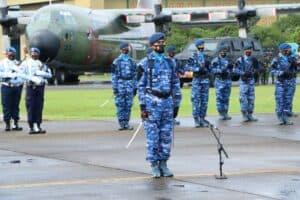 Upacara Peringatan HUT TNI AU ke-75 di Lanud Hnd Digelar Sederhana