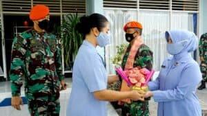 Sambut Bulan Suci Ramadhan Danyonko 462 Paskhas Berikan Tali Kasih Kepada Seluruh Anggota