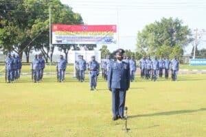 Peringatan ke-75 HUT TNI Angkatan Udara di Lanud J.B. Soedirman