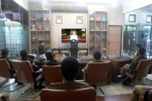 Danlanud Wiriadinata Hadiri Pengarahan Presiden RI