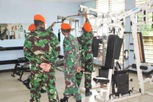 Paskhas Medan Sambut HUT ke-75 TNI AU dengan melaksanakan kegiatan Donor Darah