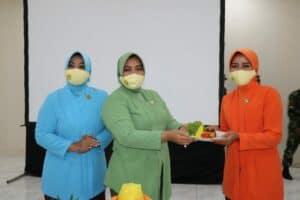 Ketua PIA AG Cabang 10/D. II Lanud Dhomber Hadiri HUT Dharma Pertiwi