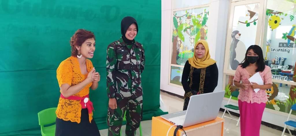 Wara Lanud Abd Saleh Kenalkan Profesi Prajurit kepada Murid-murid TK