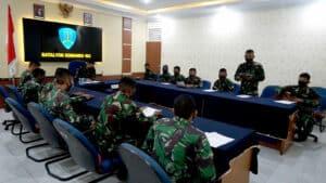 Yonko 462 Paskhas Laksanakan Do'a Bersama Dalam Rangka HUT Ke 75 TNI AU