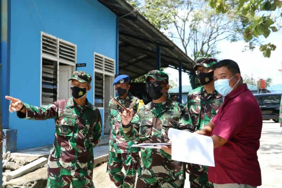 Tinjau Kesiapan Latihan Jalak Sakti, Pangkoopsau I Kuker ke Lanud ASH
