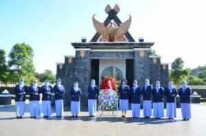 Ziarah Hari TNI AU Ke-75 Di TMP Cikutra Bandung