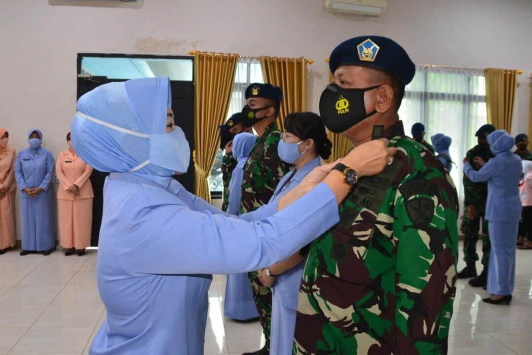 ''Lebih Profesional Dengan Pangkat Baru dan Semangat Baru'' Laporan Korps Kenaikan Pangkat di Lanud Sjamsudin Noor