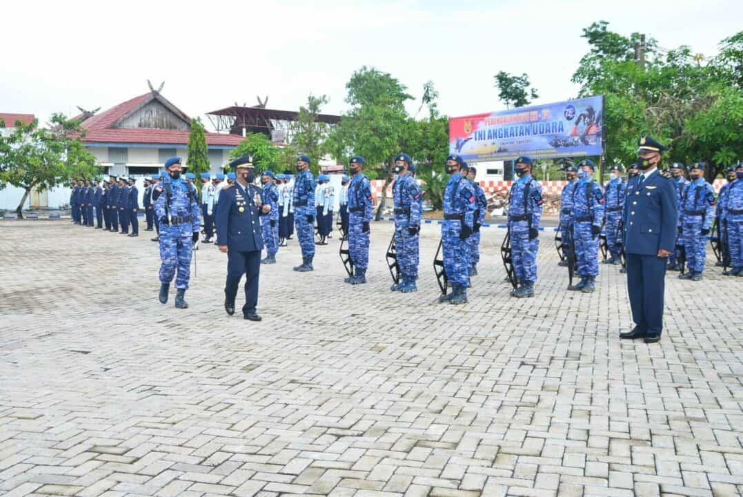 Peringati HUT TNI AU ke-75 Tahun 2021 Kasau Bertekad Wujudkan TNI AU Yang Disegani Dikawasan