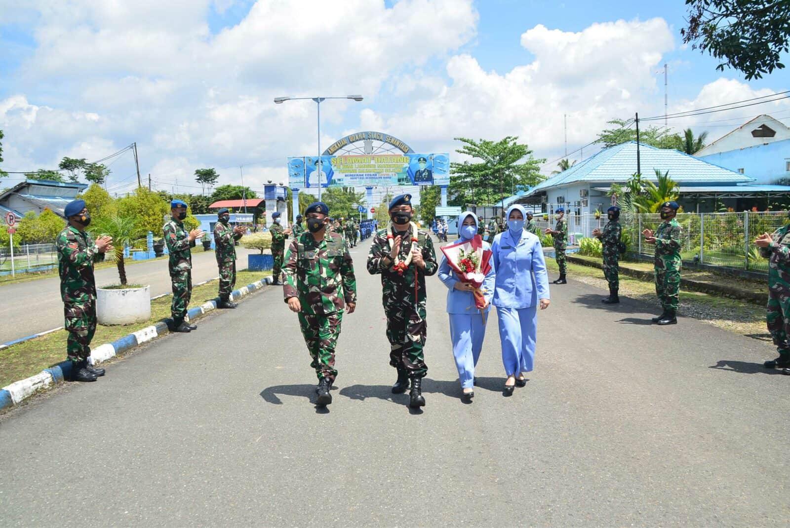 Passing In dan Passing Out Komandan Lanud Sjamsudin Noor