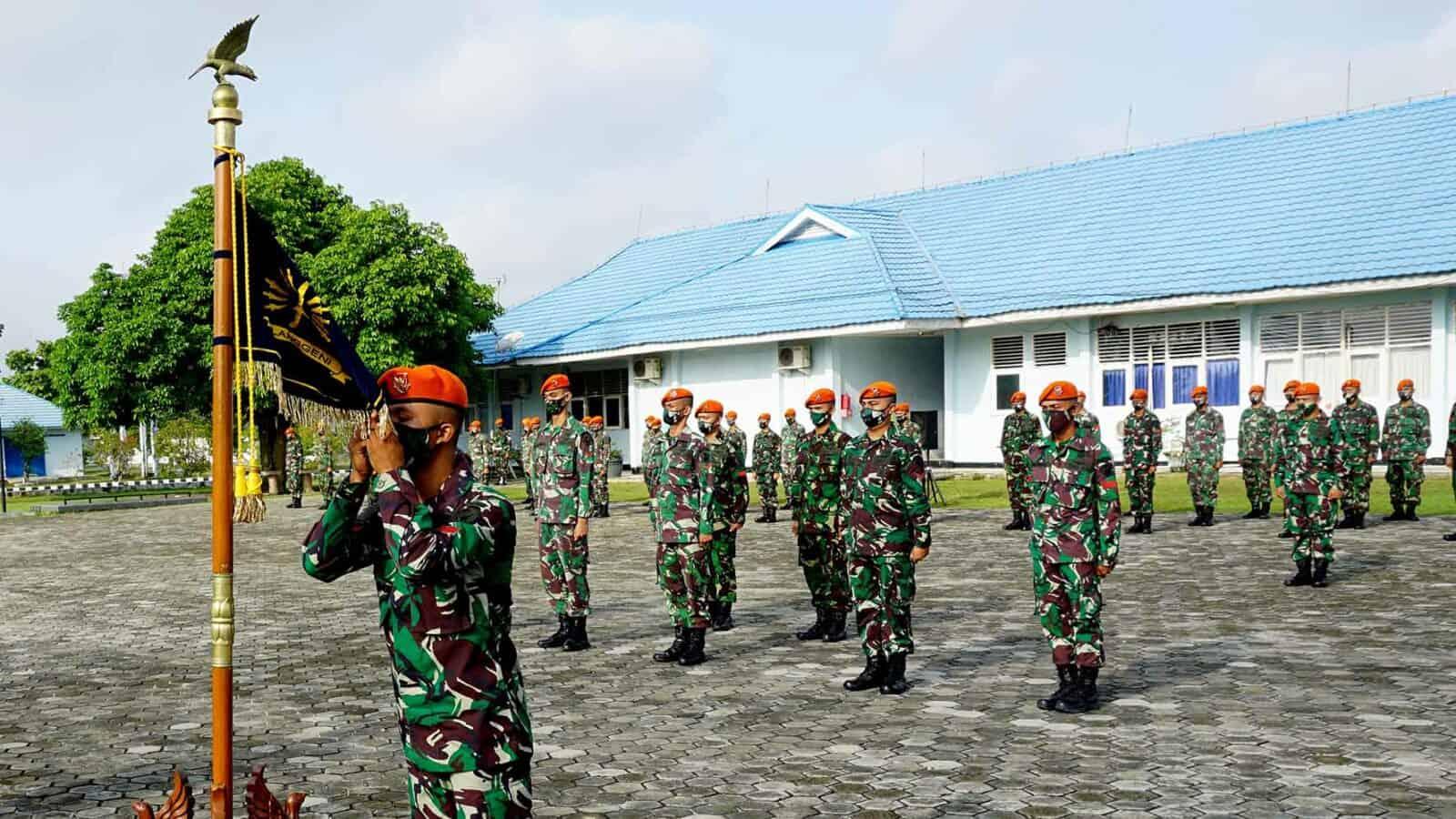 Danyonko 462 Pimpin Acara Tradisi Korps Raport Arjuna Pulanggeni Menuju Satuan Baru
