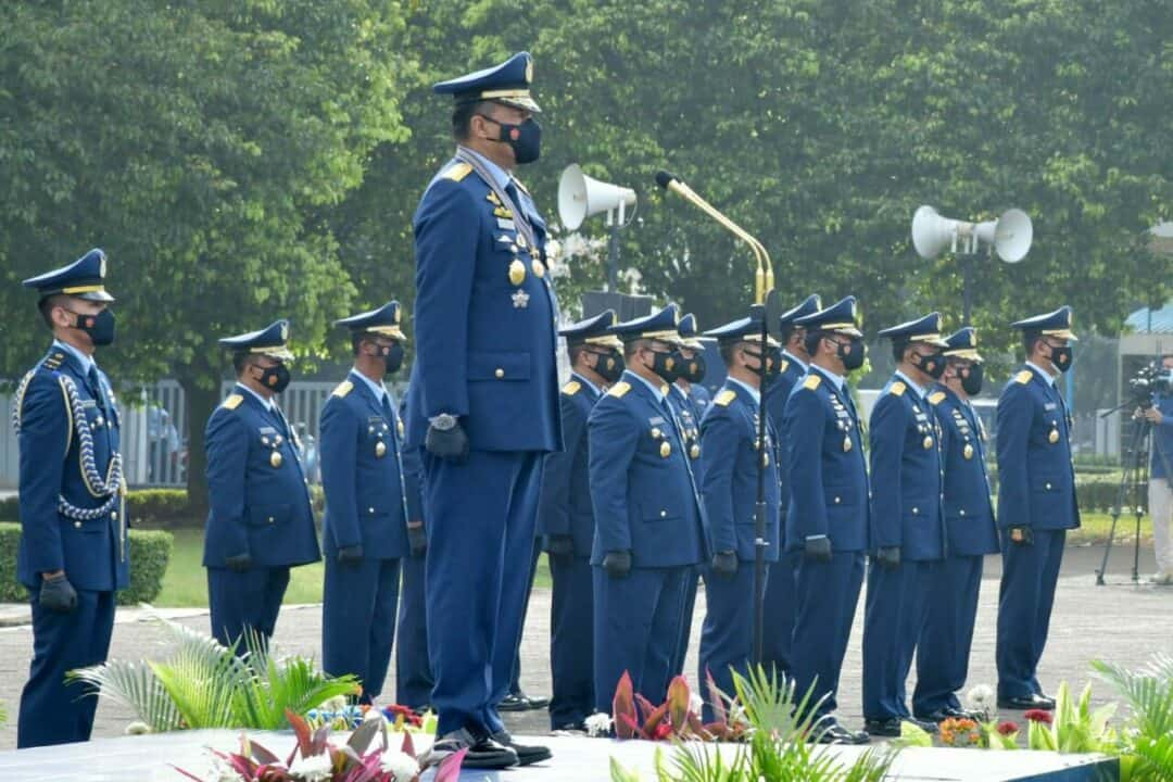 Pimpin Peringatan HUT Ke-75 TNI AU, Kasau: Diusia 75 Tahun TNI AU Pada Level dan Kondisi yang Semakin Profesional
