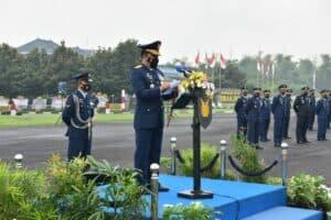 Puncak Peringatan Ke 75 HUT TNI AU Di Lanud Iswahjudi