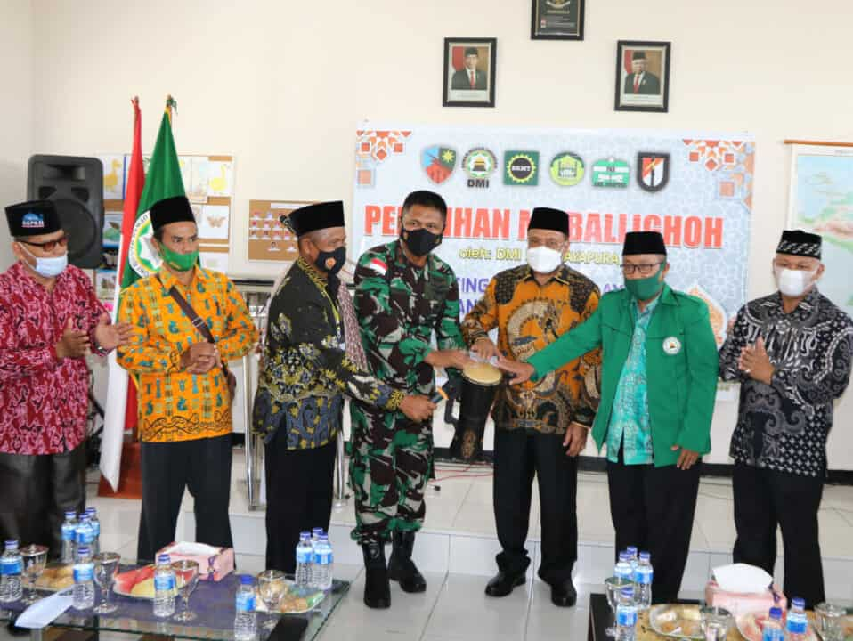 Danlanud SPR Buka Pelatihan Mubalighoh Kabupaten Jayapura
