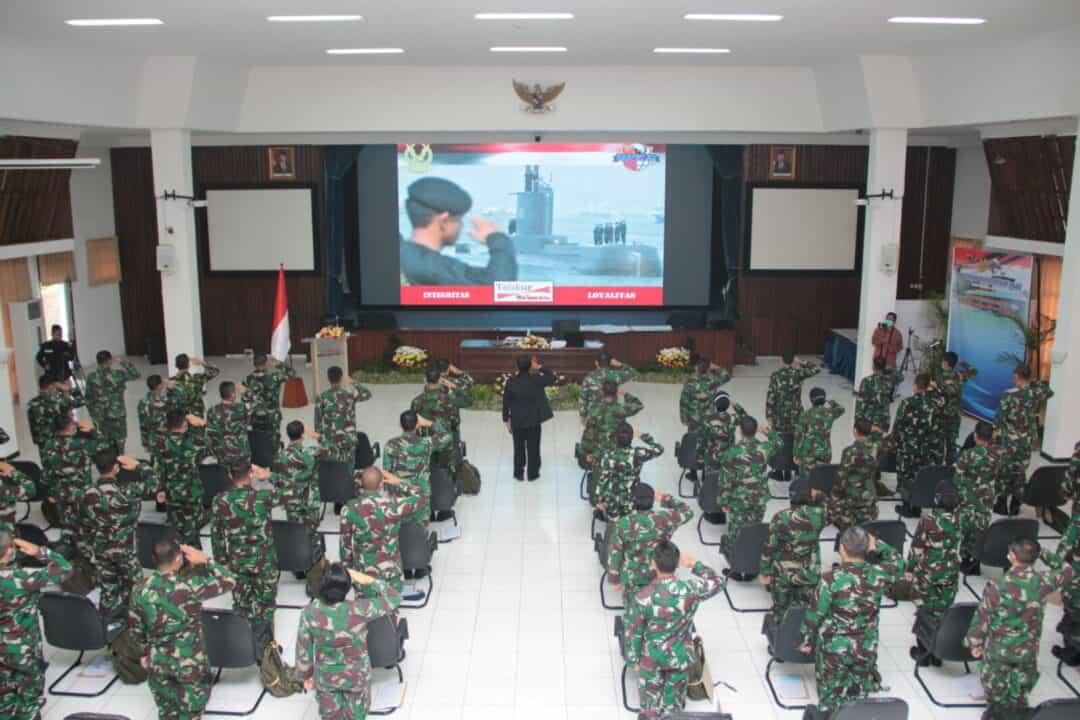 49 Perwira Siswa Sesau A-15 Ikuti Assesment Kepemimpinan