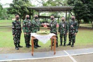 19 Personel Kosekhanudnas I Terima Kenaikan Pangkat