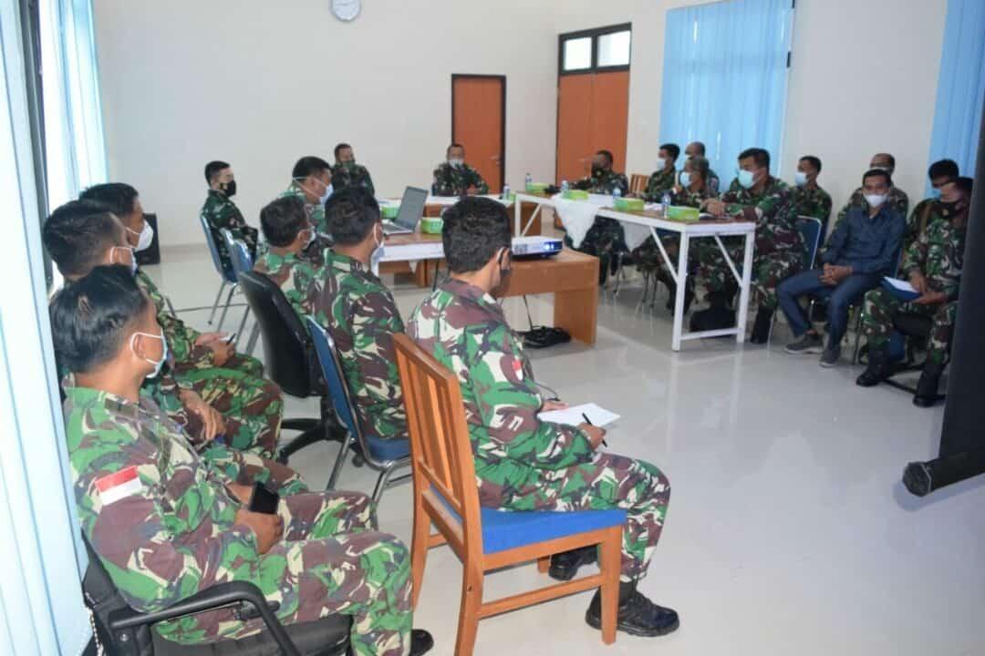 Zona Integritas Kunjungi Lanud Hang Nadim.