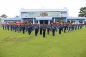 Sederhana Tapi Bermakna, Wing III Paskhas Gelar Upacara HUT Ke-75 TNI Angkatan Udara
