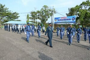 Peringatan Ke-75 TNI Angkatan Udara Di Lanud Sutan Sjahrir