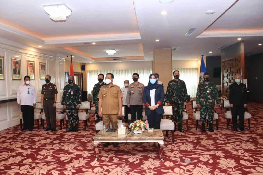Pangkoopsau II Ikuti Rapat Koordinasi Presiden Dengan Kepala Daerah Se Indonesia