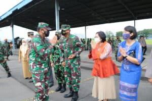 Kunjungan Kerja Kasau di Medan