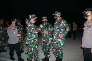 Kunjungan Kerja Panglima TNI dan Kapolri