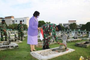ZIARAH ROMBONGAN HUT KE-75 TNI ANGKATAN UDARA