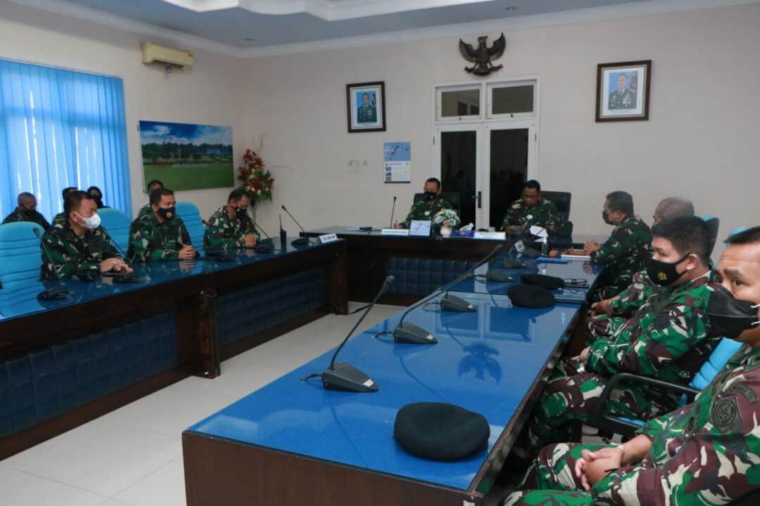 Itjen TNI Laksanakan Wasrik di Lanud Adi Soemarmo