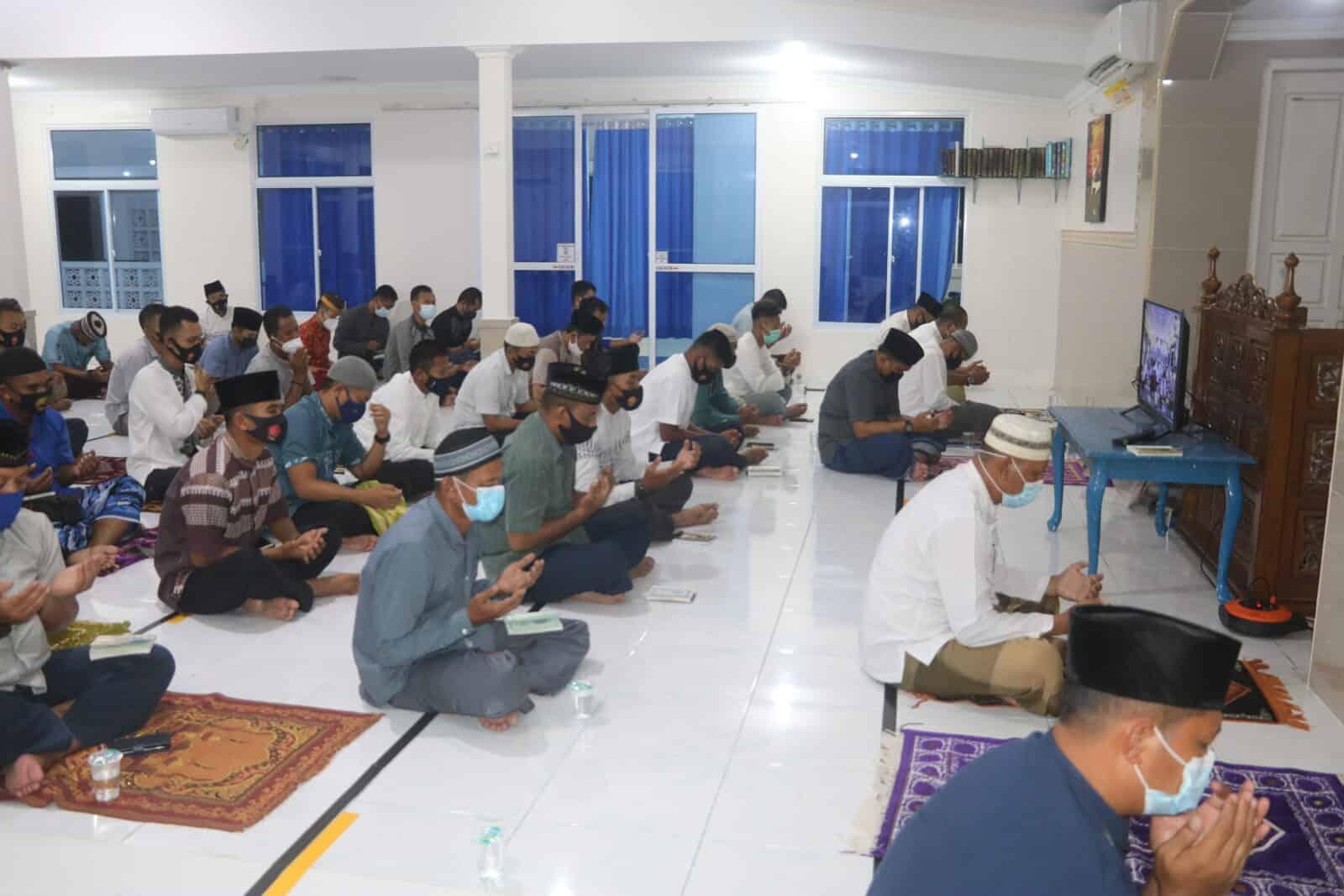 Lanud Raden Sadjad Khataman Al-Qur'an dan Doa Bersama