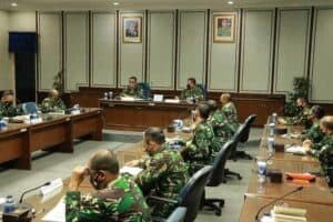 Dankorpaskhas Sambut Kunjungan Irjen TNI