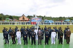 Puncak Peringatan HUT TNI AU Ke-75 Di Koopsau III Biak Papua