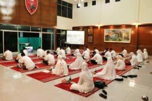 Dankorpaskhas Ikuti Doa Bersama Peringatan HUT ke-75 TNI AU