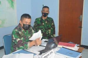 Denhanud 474 Paskhas Terima Kunjungan Tim Wasrikap Inspektorat Korpaskhas
