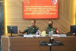 Koopsau I dan Kodam II Sriwijaya Latihan Kesiapan Operasi (LKO) Bersama, Tanggulangi Bencana Karhutla