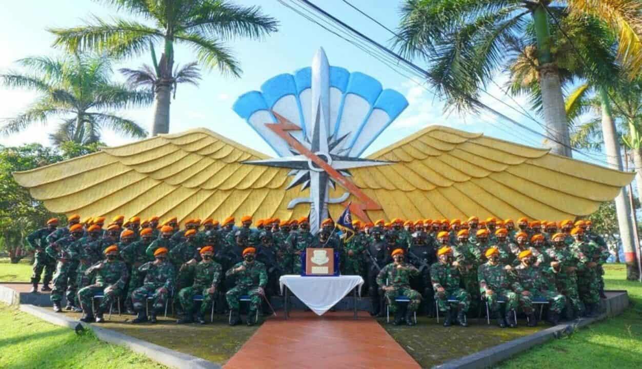 Denmatra 2 Paskhas Raih Penghargaan Dalam Laso TNI AU 2020