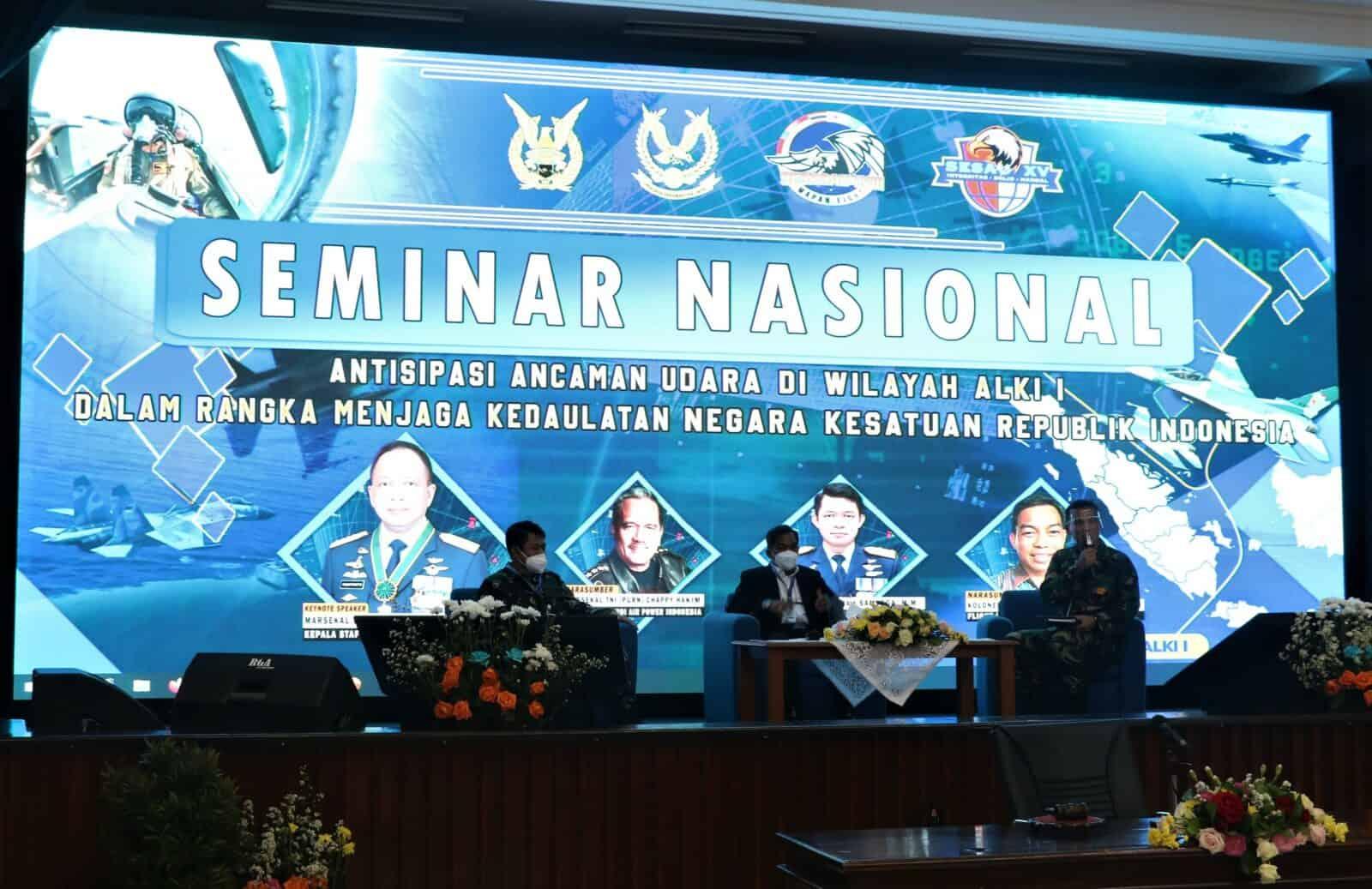 Bahas ALKI I, Seskoau Selenggarakan Seminar Nasional