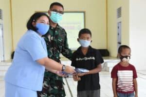 21 Anak Khitanan Massal di Klinik Lanud Had