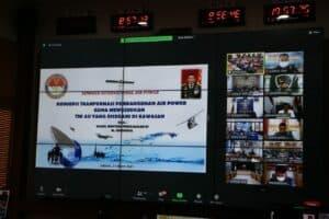 Danlanud Rsn Ikuti Video Conference Seminar International Air Power