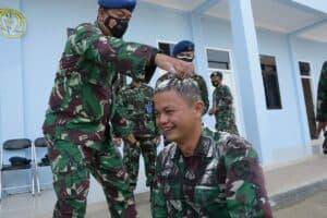 12 Orang Personel Lanud RHF Terima Kenaikan Pangkat