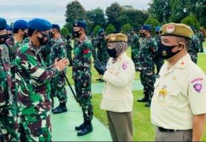 39 Personel Makoopsau I Laksanakan Tradisi Kenaikan Pangkat