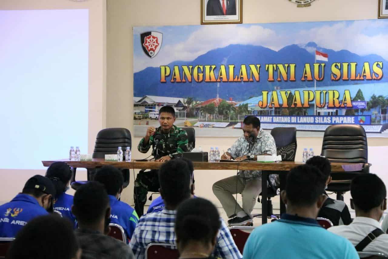 Komandan Lanud Silas Papare Pimpin Rapat Kesiapan Protokol CDM Meeting
