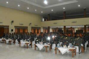 Kunjungan Kerja, Wakasau berikan ceramah kepada Perwira Lanud Adisutjipto