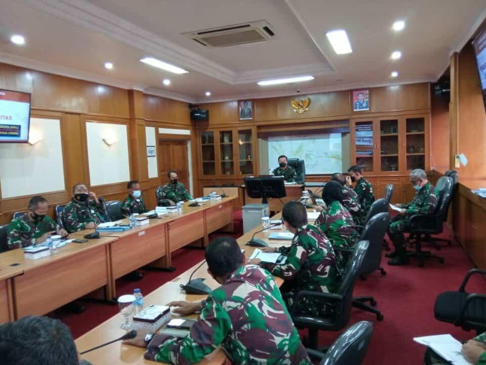Kohanudnas Laksanakan Rapat Pembangunan Zona Integritas