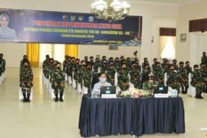 Ibu Winayadhati Kanya Sena Berikan Pembekalan kepada Prasis Semaba PK Wanita TNI AU